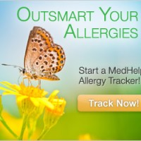 allergy tracker ad graphic design