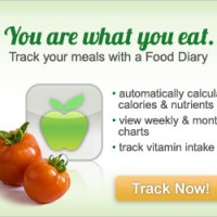 food tracker ad graphic design