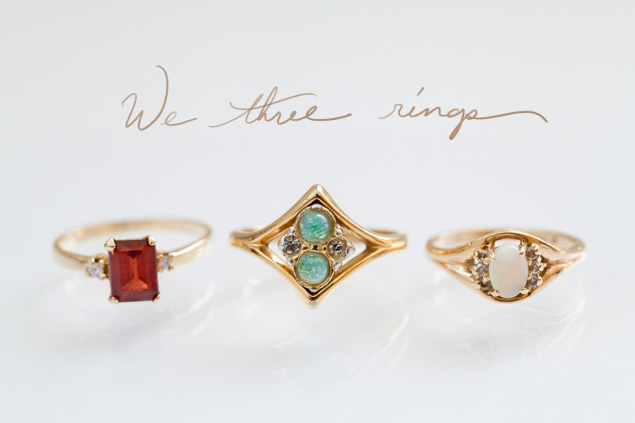 heirloom gold rings