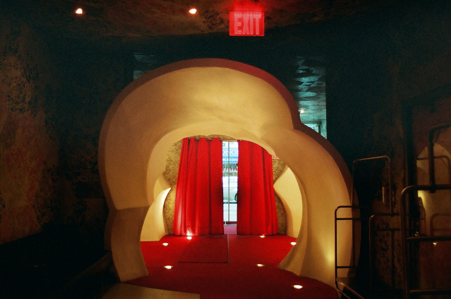 Lobby entrance at the Hotel on Rivington
