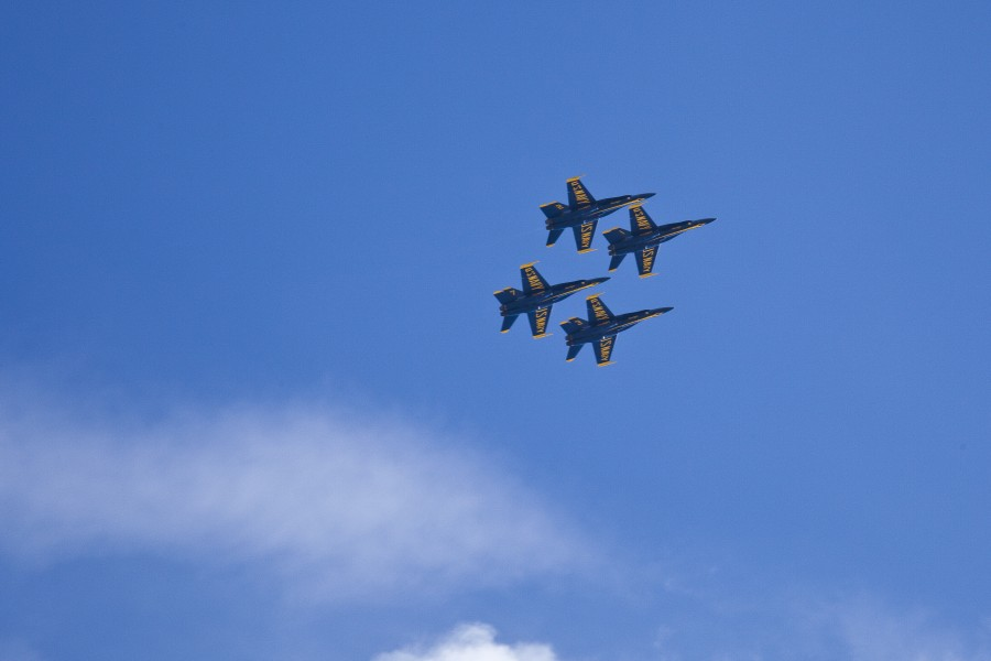 Blue Angels SF Fleet Week